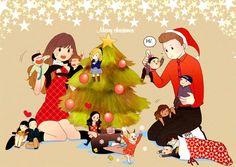 glee fanart kurt hummel | klaine glee Fanart merry christmas! brittana finchel burt hummel Puck ...