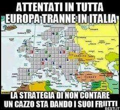 Attentati in tutta Europa