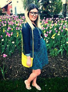 One Dress, Four Ways: A PinkBlush Maternity Giveaway Pregnancy Style, Pregnancy Fashion, Maternity Style, Maternity Fashion, Pink Blush Maternity Dress, Maternity Dresses, Geek Glasses, Baby Bump Style, Fashion Stylist