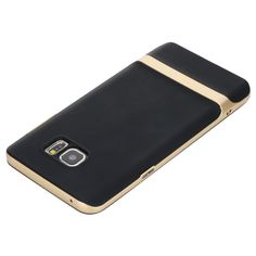 Rock Royce Series 2 in 1 TPU+PC Back Case Cover for Samsung Galaxy Note 5 - Champagne Gold