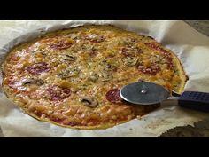 Pizza con Masa de Coliflor Súper Light - Recetas de Cocina