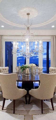 Luxury Dining Room/Luxuriant Designs. Bella Donna