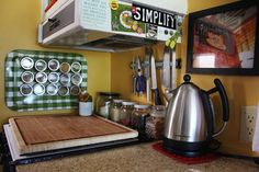 small motor home kitchen makeover | Kitchen Spotlight: The Janssens' Incredibly Tiny RV Kitchen | The ...
