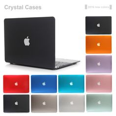 2016 NEW Crystal Case For Apple Macbook Air Pro Retina 11 12 13 15 Laptop Cover Bag For Mac book 13.3 inch