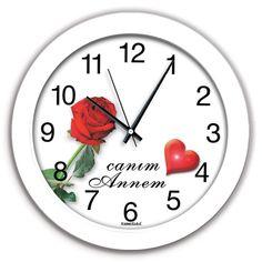 Canım Annem Dekoratif Duvar Saati, Canım Annem Dekoratif Duvar Saati Ürün Bilgisi ;Ürün maddesi : Plastik çerceve, Gerçek cam Ebat : 30 xcm Mekanizması (motoru) : Akar sa