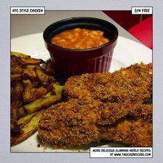 kfc gravy recipe slimming world \ kfc gravy recipe + kfc gravy recipe copycat + kfc gravy recipe copycat mashed potatoes + kfc gravy recipe slimming world + kfc gravy recipe how to make + kfc gravy recipe fried chicken Slimming World Chicken Nuggets, Slimming World Chicken Recipes, Slimming World Recipes, Kfc Gravy Recipe, Kfc Chicken Recipe, Healthy Eating Recipes, Cooking Recipes, Healthy Food, Diet Recipes