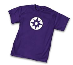 Green Lantern Violet Lantern Corps Symbol Purple Adult T-Shirt  $19.95 #tvstoreonlinewishlist
