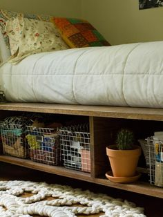 creative bedroom storage bedroom storage idea bedroom ideas storage bedroom decor storage storage ideas bedroom bedroom diy storage bedroom storage diy organization ideas for kids room Platform Bed With Storage, Platform Beds, Diy Bedframe With Storage, Diy Storage Under Bed, Build A Platform Bed, Storage Bed Frames, Queen Beds With Storage, Daybed Storage, Under Bed Storage Containers