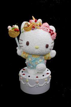 Sweet Kitty by Osamu Watanabe, 2014, decorations on fibre-reinforced plastic