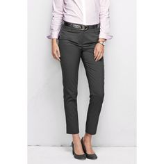 9bfcea8d0dc2d Lands  End Wear to Work Slim Leg Pants ( 79) ❤ liked on Polyvore