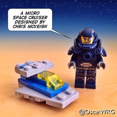 #LEGO_Galaxy_Patrol #LEGO #MicroBuild #Micro #SpaceCruiser #ChrisMcVeigh @PowerPig @lego_group @lego @bricksetofficial @bricknetwork @brickcentral