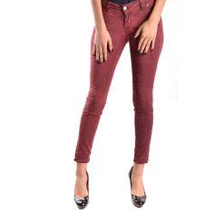 Trousers Women, Women's Trousers, Burgundy Jeans, Bordeaux, Jeans Pants, Capri Pants, Spring Summer, Skinny Jeans, Genere