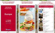 App Michelin Restaurantes de Europa 2016