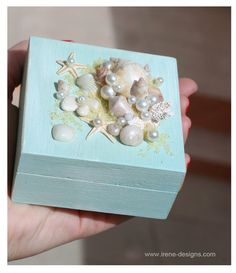 Wedding Ring Pillow Box Wedding Ring Bearer Box for by IrenDesigns, €30.00