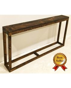 Zaycup Long Console Table / Narrow Console Table / Long Entryway Table / Behind Couch Table / Behind Sofa Table / Rustic / Industrial from Etsy (US) Long Entryway Table, Behind Sofa Table, Rustic Sofa, Mudroom Furniture, Rustic Sofa Tables, Sofa Table Decor, Table Behind Couch, Diy Sofa Table, Couch Table
