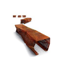 Aço Corten: ótimo elemento na decoração - Coisas da Léia