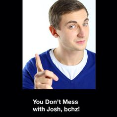 Don't mess up with Josh. Really. softorino.com/about