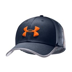 Under Armour® Coldblack® Focus Stretch Fit Golf Cap #VonMaur #UnderArmour #Hat #Mesh
