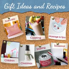 Gift Ideas and recipes using essential oils