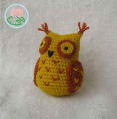 Free Pattern: Amigurumi Sophisticated Owl (© 2013 Toma Creations)