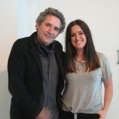 Con Miguel Ríos después de realizarle una entrevista interesantísima en la Feria del Libro de Valencia www.olelibros.com