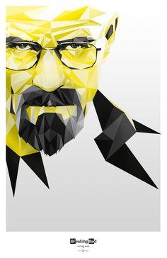 @Rochelle Weeks Weeks Weeks (Breaking Bad) Walter - Fan Art by David Ibarra, via Behance