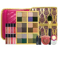 Tarte Carried Away Collector's Set: The traveling girl's must-have makeup kit, to look beautiful no matter where in the world you are.