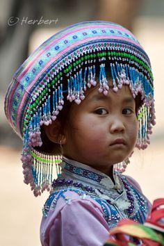 Little Girl from Yunnan, China