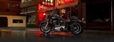 Harley‐Davidson fat slim