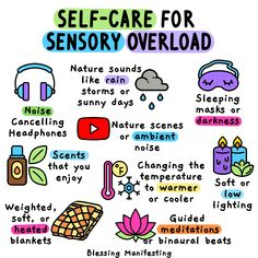 Mental conditions may often cause sensory overload. It can make you feel anxious, stressed, overwhelmed. Here are some tips to lessen the sensory overload.