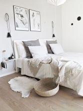 cool 60 Cozy Scandinavian Bedroom Design Trends https://homedecort.com/2017/07/60-cozy-scandinavian-bedroom-design-trends/