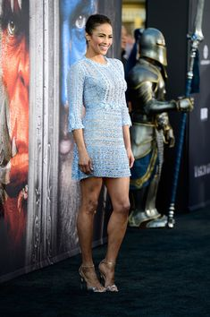 """Paula Patton Photos - Actress Paula Patton attends the premiere of Universal Pictures' """"Warcraft at TCL Chinese Theatre IMAX on June 2016 in Hollywood, California. - Premiere Of Universal Pictures' 'Warcraft' - Arrivals Hottest Female Celebrities, Girl Celebrities, Hollywood Celebrities, Celebs, Hollywood Actresses, Paula Paton, Black Actresses, Vogue, Beautiful Actresses"""