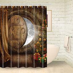 Foog Wood House Christmas Tree Fantasy Shower Curtain Win... https://www.amazon.com/dp/B01N7I2E4A/ref=cm_sw_r_pi_dp_x_5kswybK8M0V37