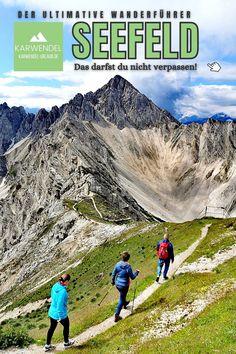 Wanderurlaub Karwendel in Seefeld, Leutasch und Scharnitz ⭐ Das sind die schönsten Wanderungen zwischen Wettersteingebirge und Karwendel ✔️ Seen, Felder, Mount Everest, Mountains, Bad, Nature, Travel, Road Trip Destinations, Tours