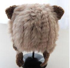 new fur bomber hats fashion women hats winter head decoration high quality real rabbit fur hats beige khaki color to choose