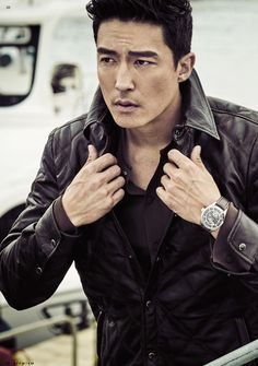 Daniel Henney for Mpremium August 2015. Photographed by Ahn Joo Young