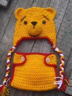 eli / Winnie the Pooh Hat