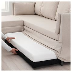 This sofa bed has soft back cushions and a resilient seat with elastic foam that allows you to both sit and sleep comfortably. At bedtime, it quickly converts from sofa to comfy bed. Sectional Covers, Sleeper Sectional, Small Sectional Sleeper Sofa, Sofa Beds, Small Space Sectional, Modern Sleeper Sofa, Best Sleeper Sofa, Couch Covers, Decorating Rooms