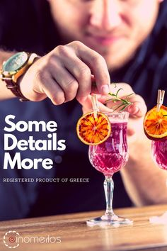 ❗️❗️The Details Make The Difference❗️❗️ 🍷Pleasure Without Limits By Oinomelos 📞21 6800 1146  Alcoholic Drinks, Cocktails, Wine, Detail, How To Make, Food, Liquor Drinks, Cocktail Parties, Alcoholic Beverages