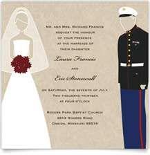 Marine Corps Wedding Invitations Mini Bridal
