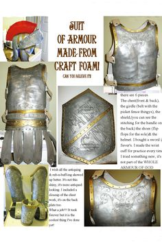 Suit of Armor from Fun Foam