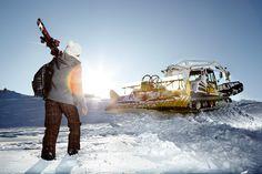 Dachstein ski advertorial, Wiener Magazin, 2009. Photographer Juergen Knoth. skiing, winter, snow, freestyle, ski fashion, Austria, Alpes