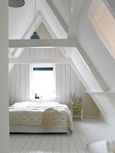 small attic master suite
