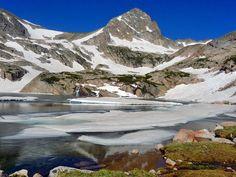 Blue Lake and Mt. Toll, Brainard Lake Recreation Area. 5.1 miles round-trip