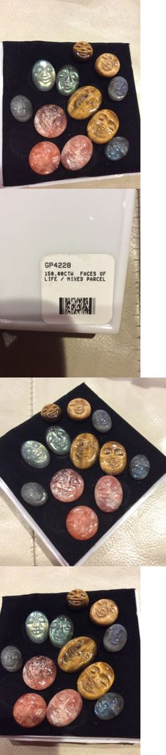 Labradorite 164393: Rare Gemstone Lot 150 Carats Labradorite Carved Face Cabochon Tigers Eye Loose -> BUY IT NOW ONLY: $60 on eBay!