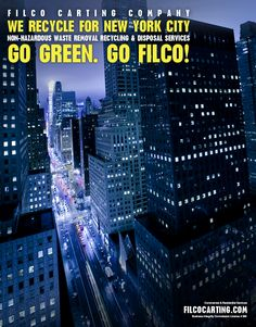 We #Recycle for New York City. filcocarting.com  @FilcoCarting 7184565000 Over 100 years of #Service