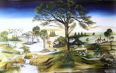 Nativity, Painting, Image, Art, Montages, Nativity Scenes, Dioramas, Xmas, Backgrounds