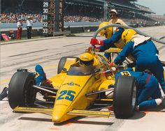 1987 Indianapolis 500 Al Unser = becomes only the 2nd person to win Indy four times.