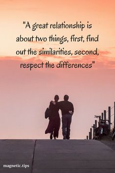 One of the best ways to keep your relationship strong is to have a few things in common and always respect each others differences. Read my blog post to discover how to keep a strong relationship using the law of attraction
