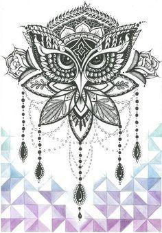 Sleeved Henna - 31 of the Prettiest Mandala Tattoos on Pinterest - Livingly